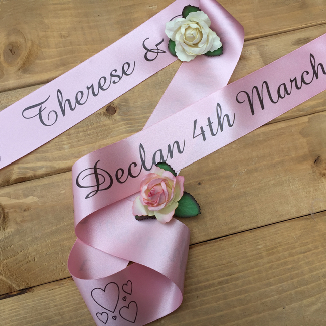 50mm Personalised Ribbon
