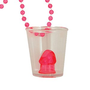 Willy Hen Party Shot Glass