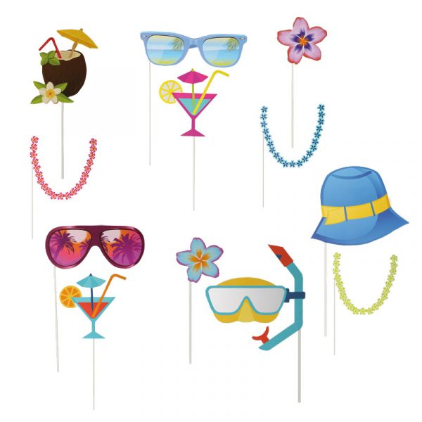 Hawaiian Hen Party Photo Props