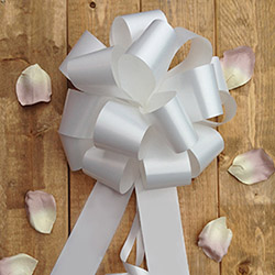 Plain Wedding Car Ribbon