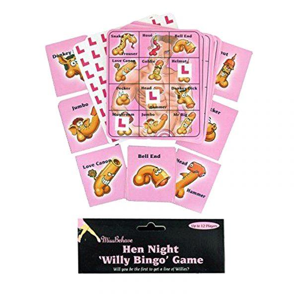 Hen Party Willy Bingo