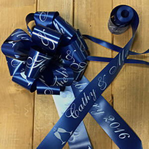 Personalised Wedding Car Ribbon