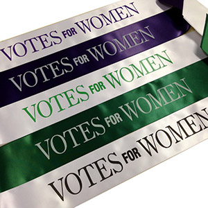 Votes for Women Sashes