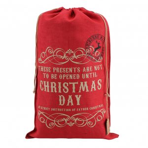 Not to Be Opened Christmas Sack