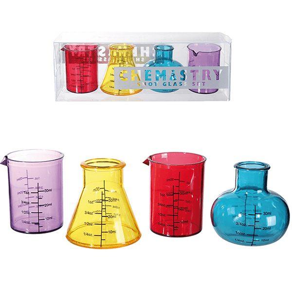 Science Shot Glass Set