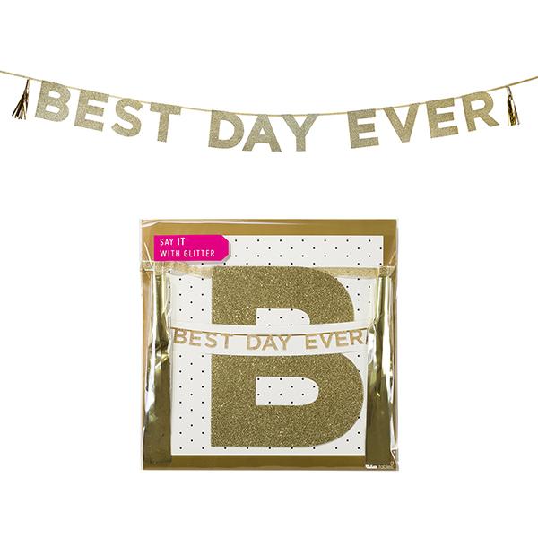 Best Day Ever Hen Night Banner