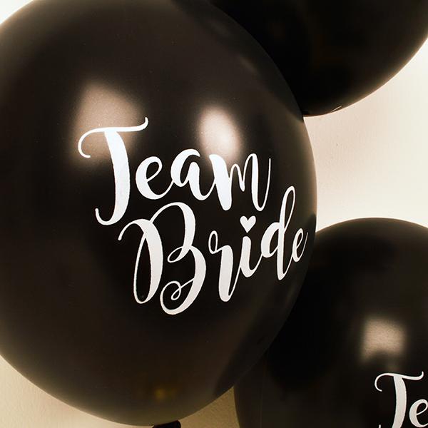 Team Bride Hen Party Balloons