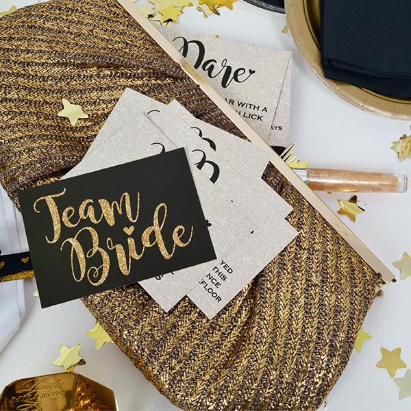 Team Bride Dare Cards