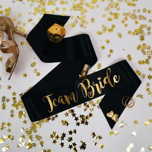 Team Bride Hen Party Sashes