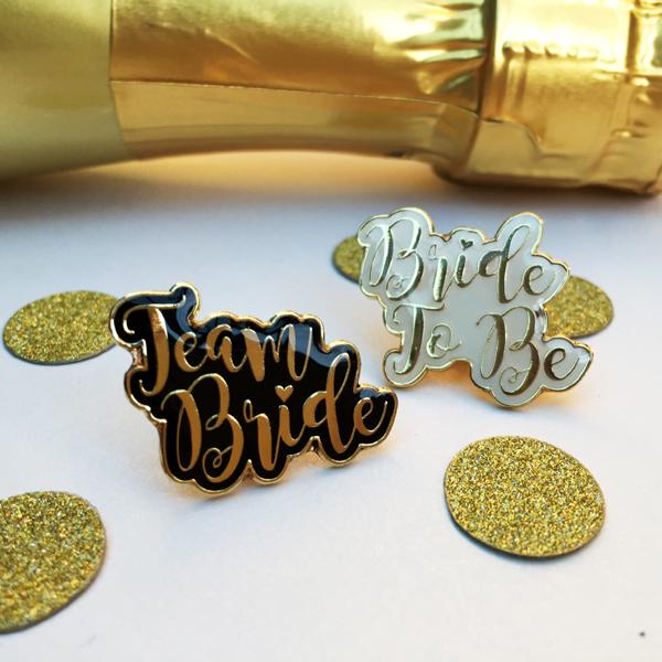 Team Bride Hen Party Badges