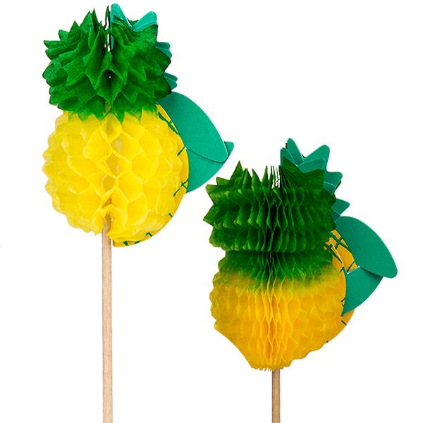 Pineapple Food Picks