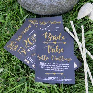 Bride Tribe Selfie Challenge Cards