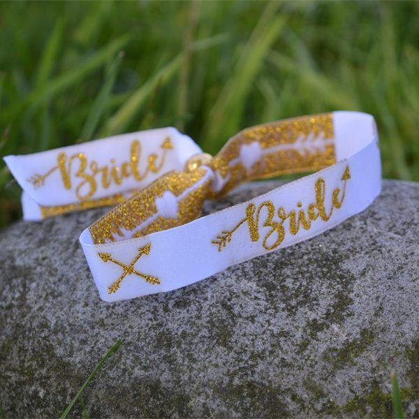 Bride Fabric Wristband