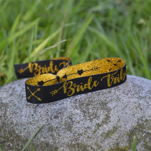Bride Tribe Fabric Wristband