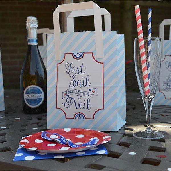 Sailor Hen Party Bags
