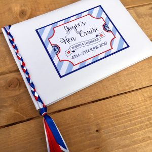 Sailor Hen Party Guest Book