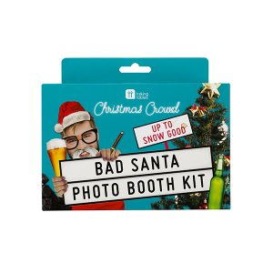 Bad Santa Christmas Photo Booth Props