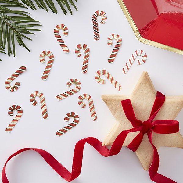 Candy Cane Christmas Confetti