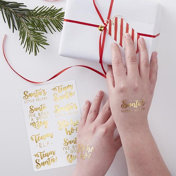 Christmas Temporary Tattoos
