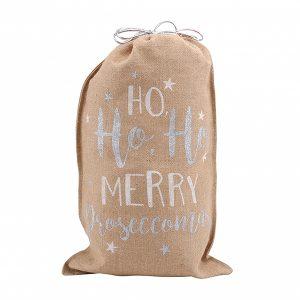 Merry Proseccomas Christmas Gift Sack