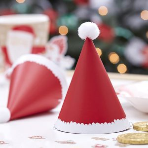 Christmas Mini Santa Party Hats