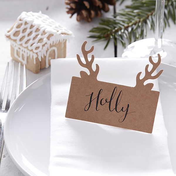 Stag Place Cards