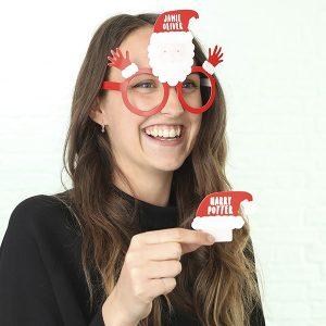 Christmas Glasses Who Am I Game