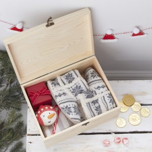 Wooden Christmas Eve Box