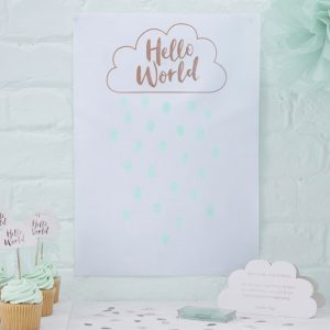 Hello World Fingerprint Guest Book