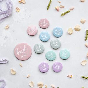 Pastel Bride Tribe Hen Party Badge Pack