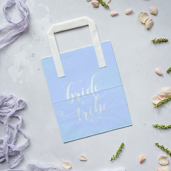 Blue Bride Tribe Hen Party Bag
