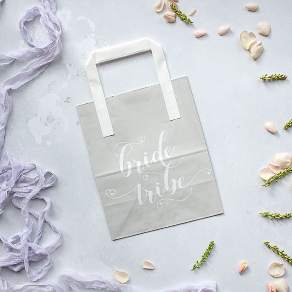 Grey Bride Tribe Hen Party Bag