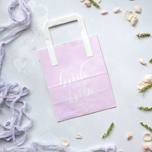 Lilac Bride Tribe Hen Party Bag
