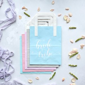 Pastel Bride Tribe Hen Party Bags