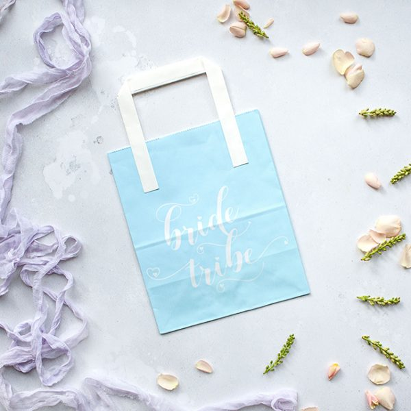 Turquoise Bride Tribe Hen Party Bag