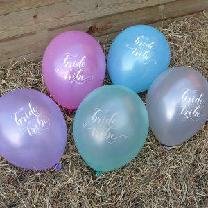 Bride Tribe Hen Party Balloons