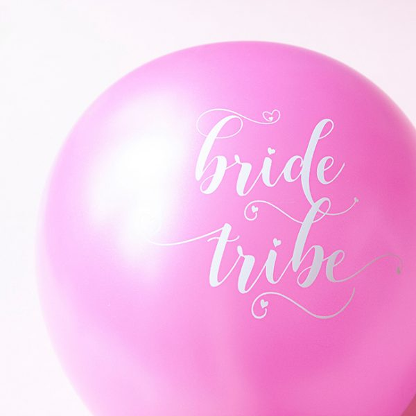 Pastel Bride Tribe Hen Party Balloons