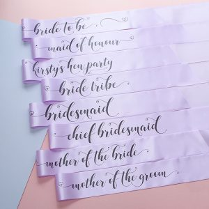 Lilac Bride Tribe Sashes
