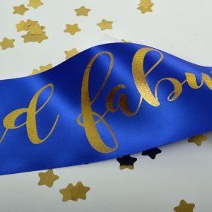 Royal Blue Sash
