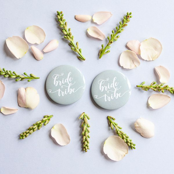Grey Bride Tribe Badges