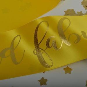 Yellow Sash