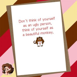 Beautiful Monkey Greetings Cards