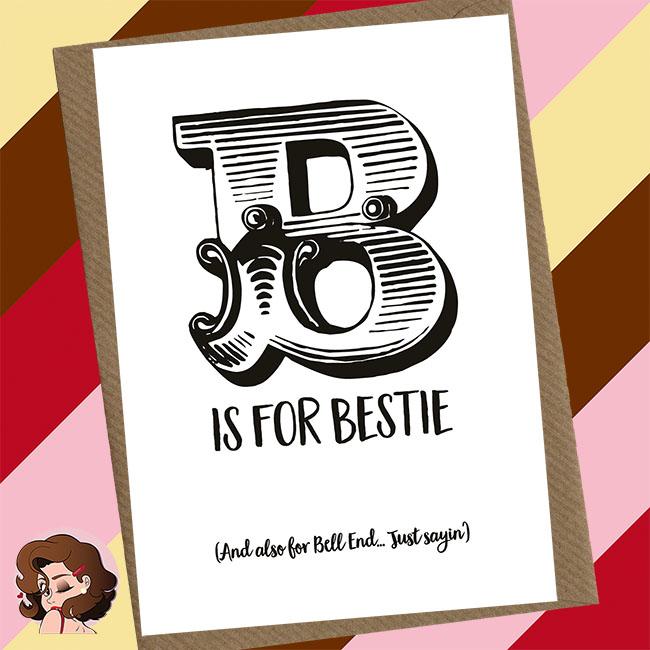 Best Friend Greetings Card