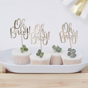 Oh Baby Cupcake Picks