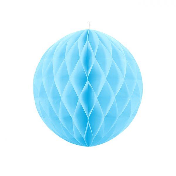 Sky Blue Honeycomb Ball