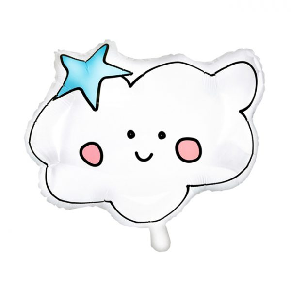 Unicorn Party Cloud Foil Balloon