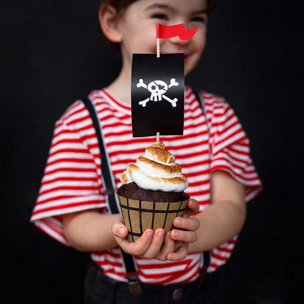 Pirate Party Cupcake Kit