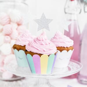 Unicorn Party Cupcake Wraps