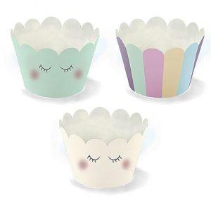 Unicorn Party Cupcake Wraps
