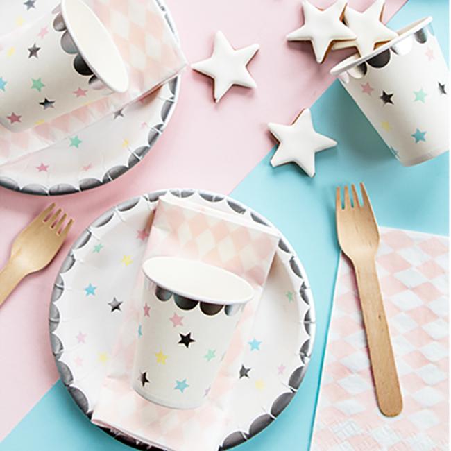 Unicorn Stars Party Cups